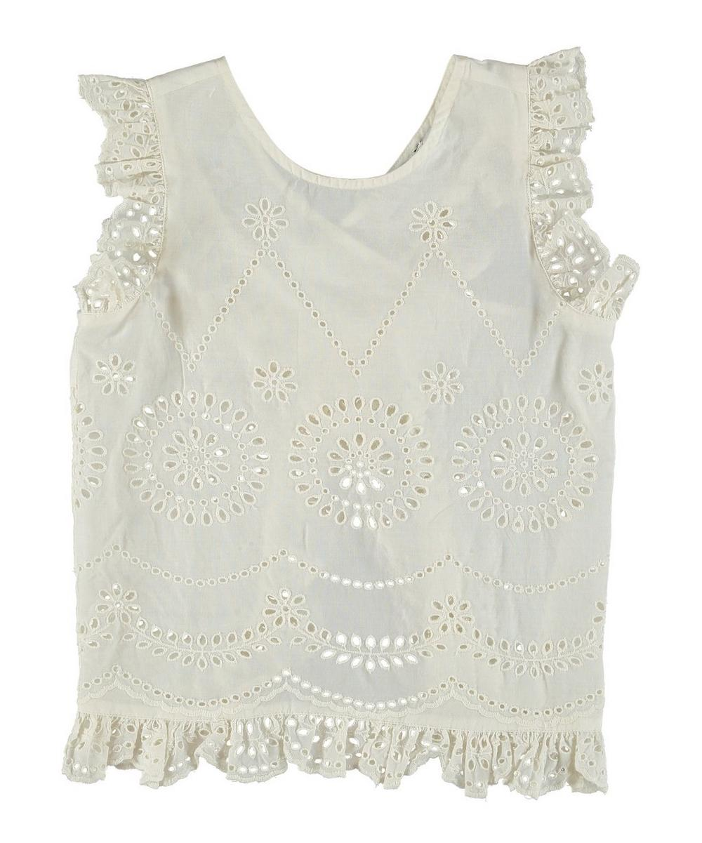 Embroidered Girl Blouse 2-8 Years