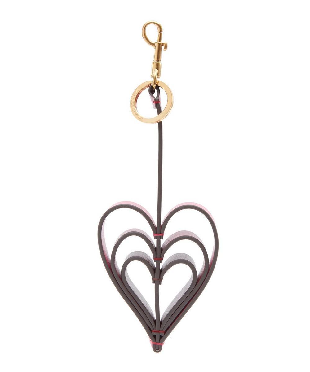 Tassel Heart Keyring