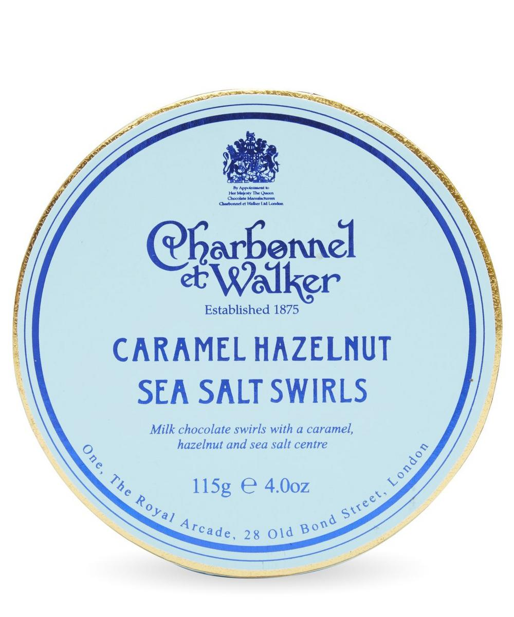 Caramel Hazelnut Sea Salt Swirls 115g