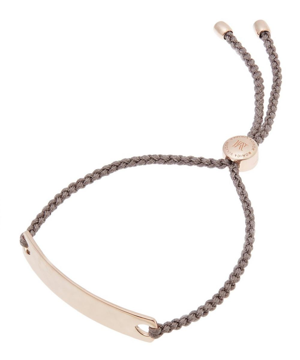 Rose Gold-Plated Mink Cord Havana Friendship Bracelet