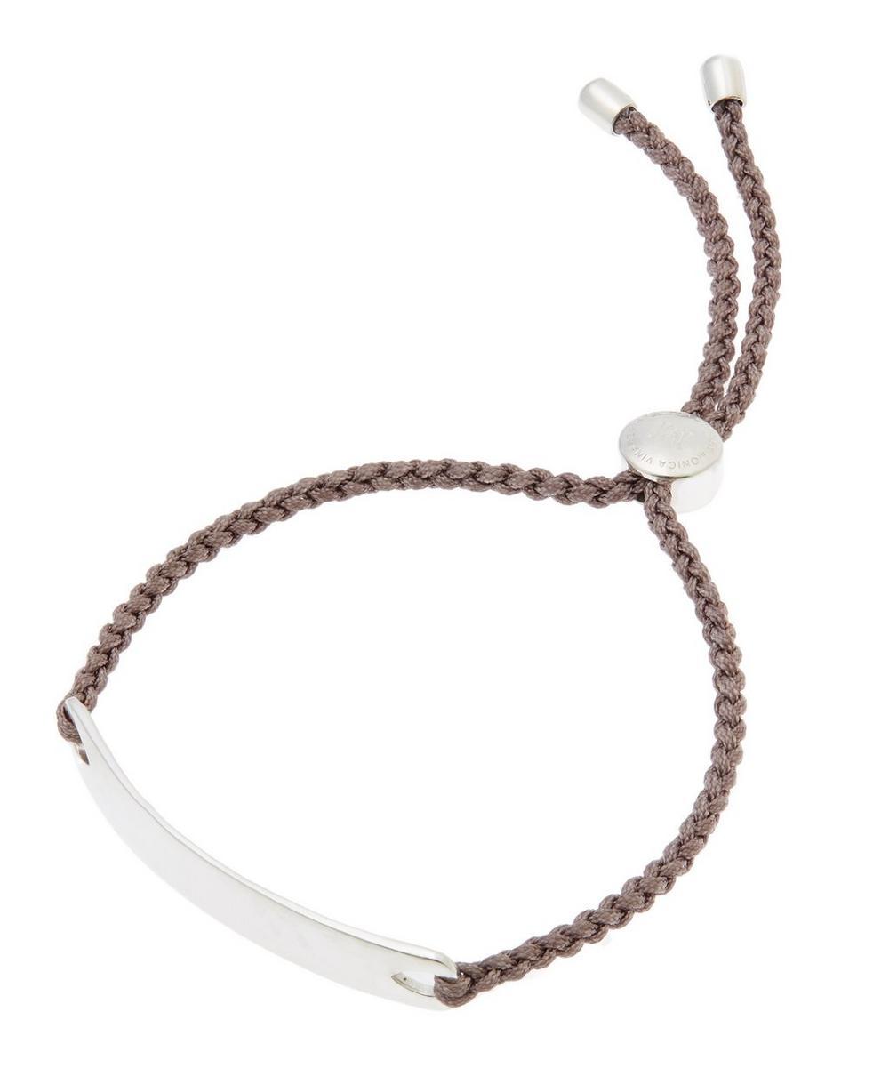 Silver Mink Cord Havana Friendship Bracelet