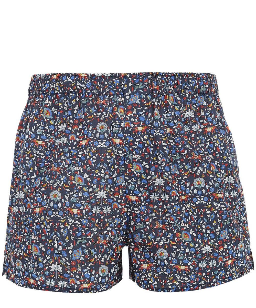 Imran Tana Lawn Cotton Boxer Shorts