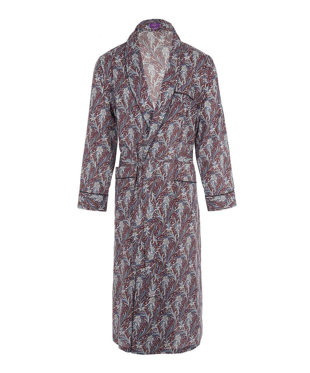 Elegance Long Tana Lawn Cotton Robe