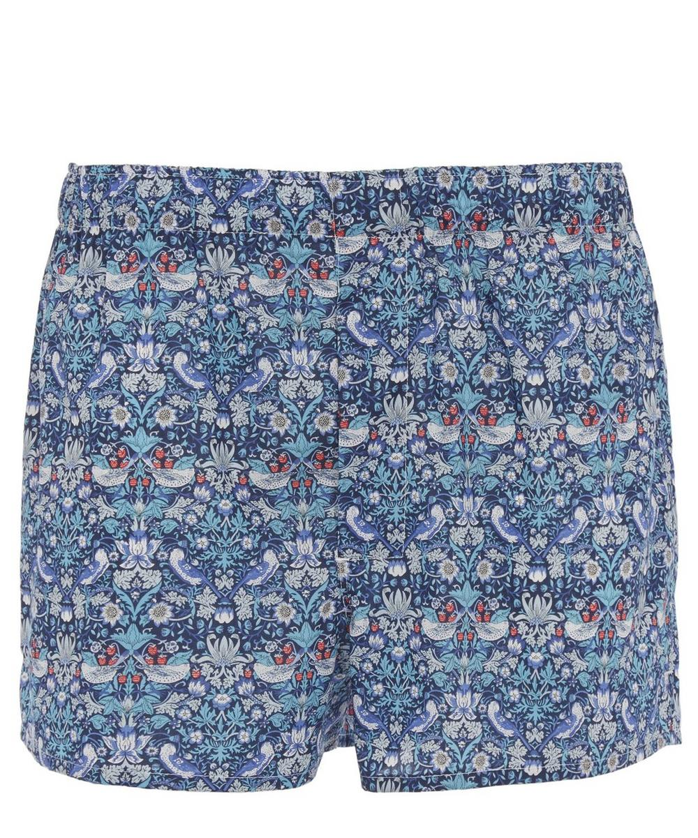 Strawberry Thief Tana Lawn Cotton Boxer Shorts
