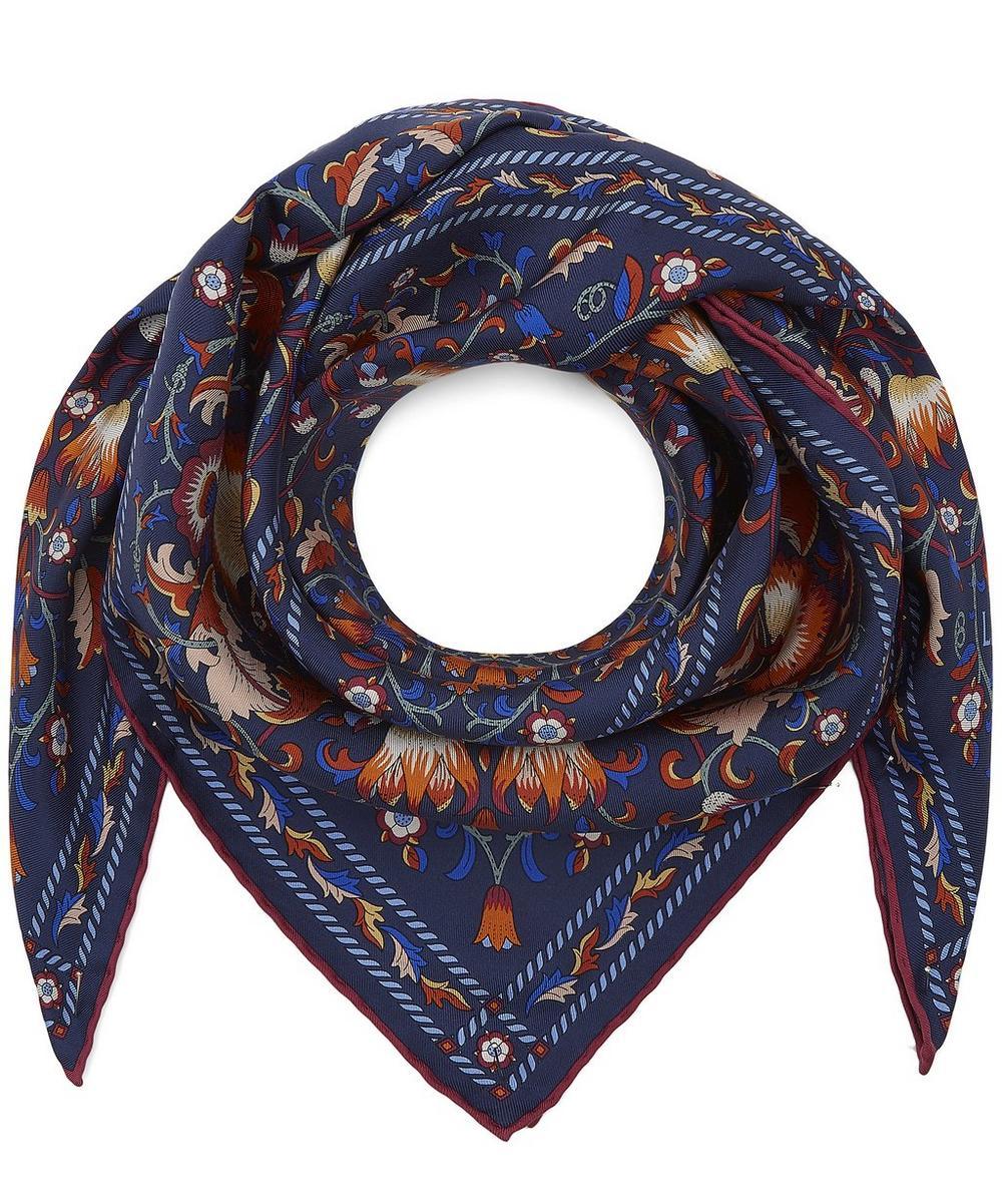 Lodden 70 x 70cm Silk Twill Foulard Scarf