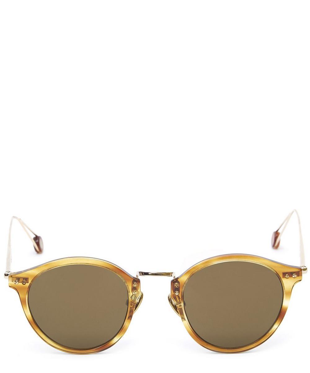 Gare Du Nord Round Acetate Sunglasses