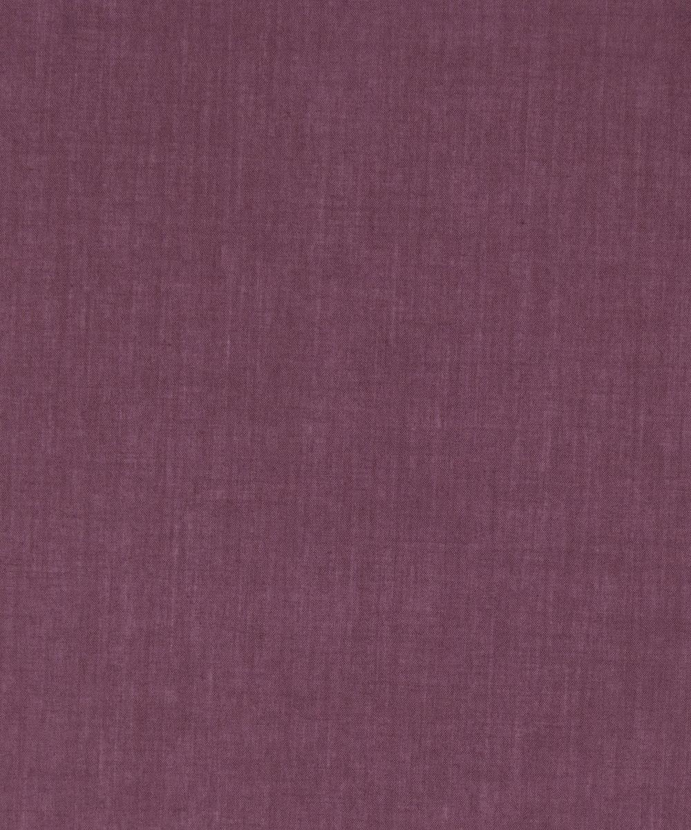 Aubergine Plain Tana Lawn Cotton