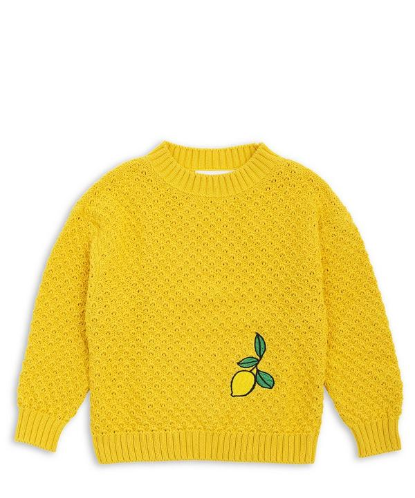 Oh La La Lemon Knitted Sweater 2-6 Years