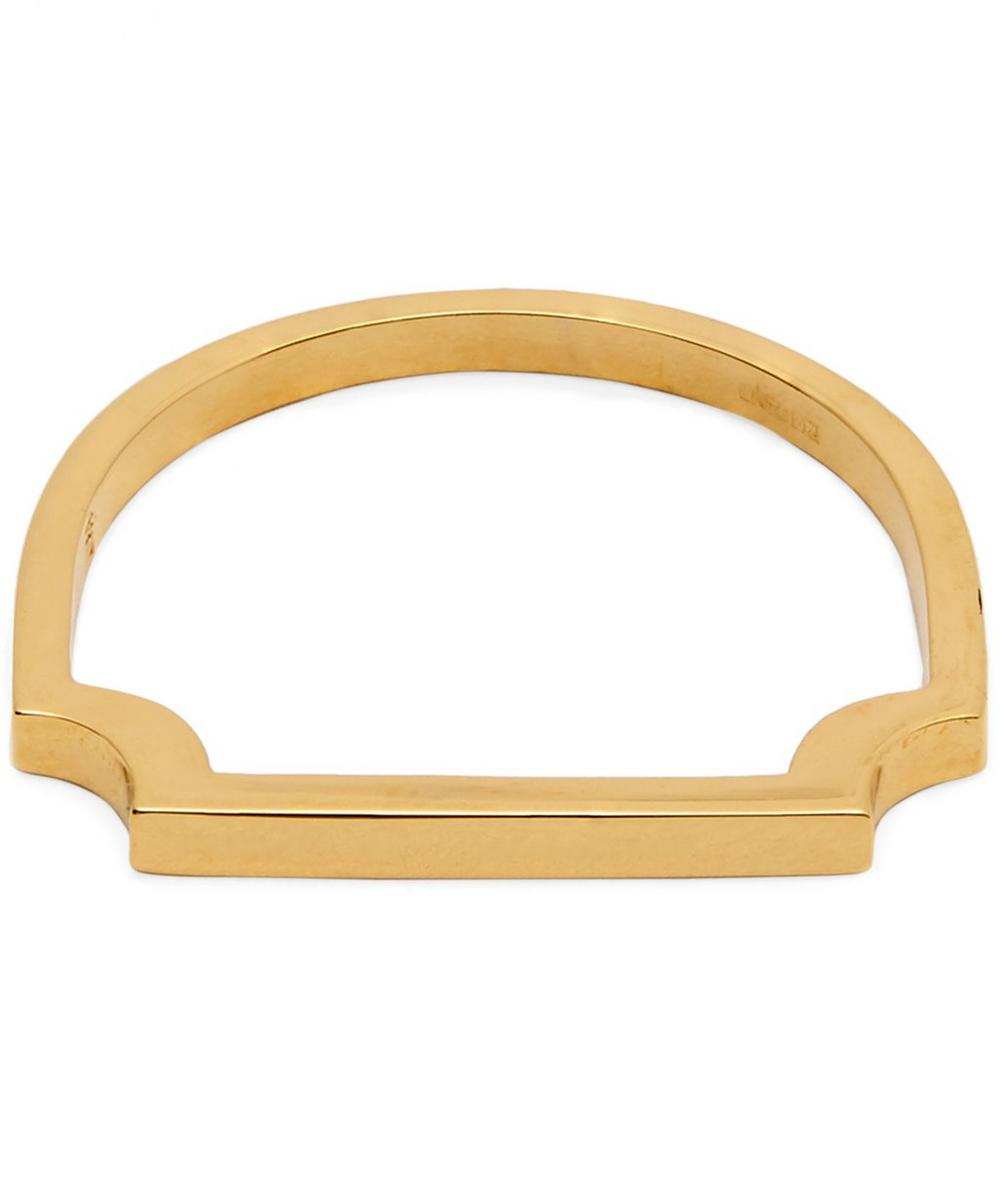 Gold-Plated Signature Thin Ring