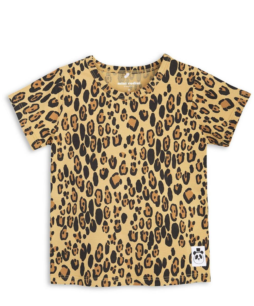 Basic Leopard Print T-Shirt 2-6 Years