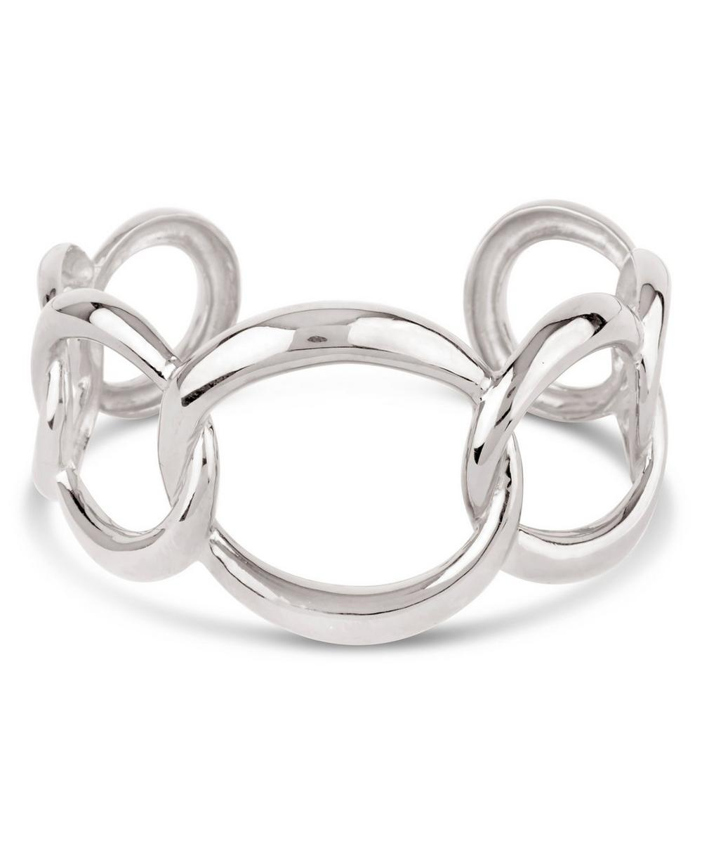 Wave Chain Bangle