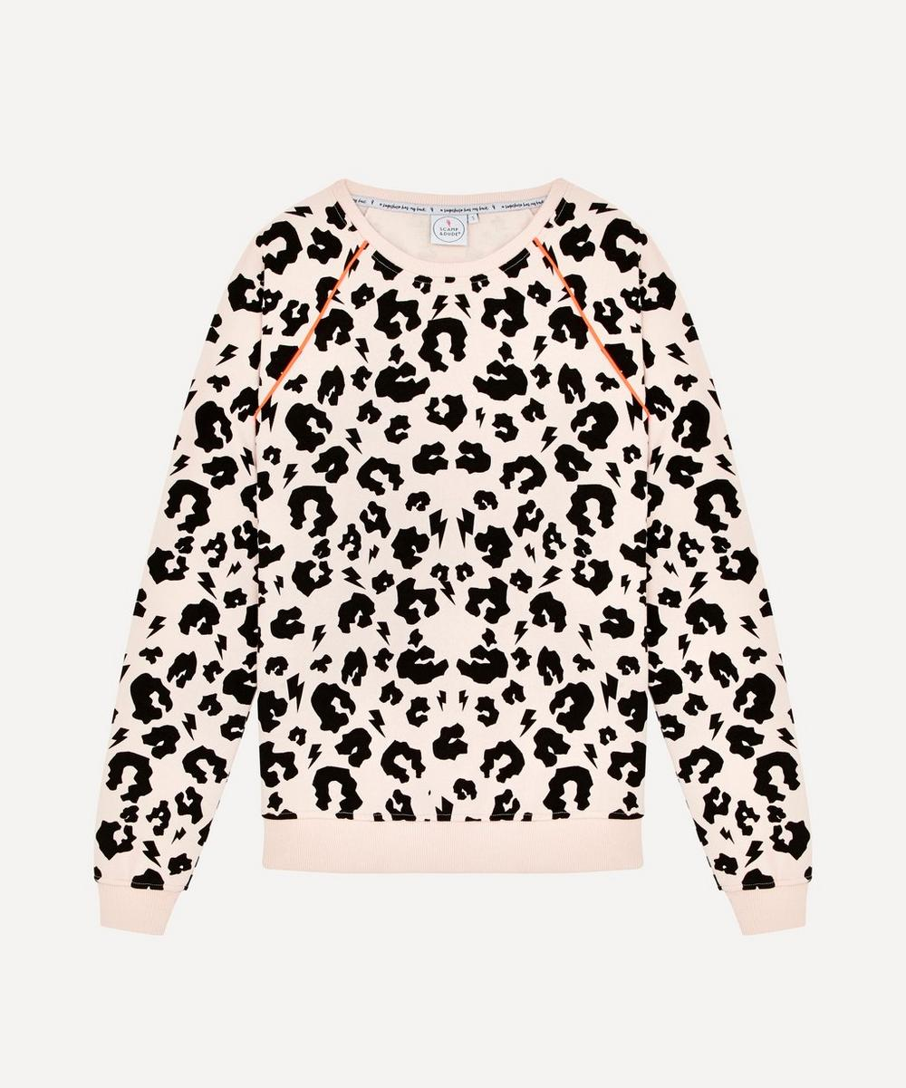 Leopard Print Sweatshirt Xs-Xl