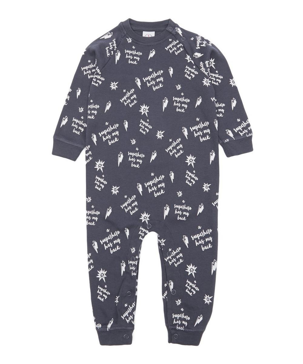 Superhero Romper 0-2 Years