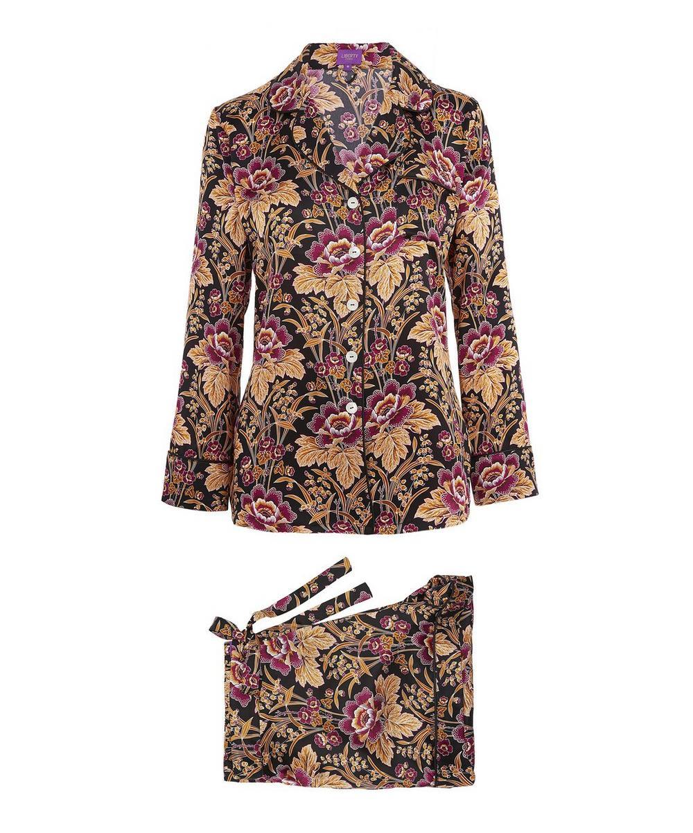 Genevieve Short Silk Pyjama Set