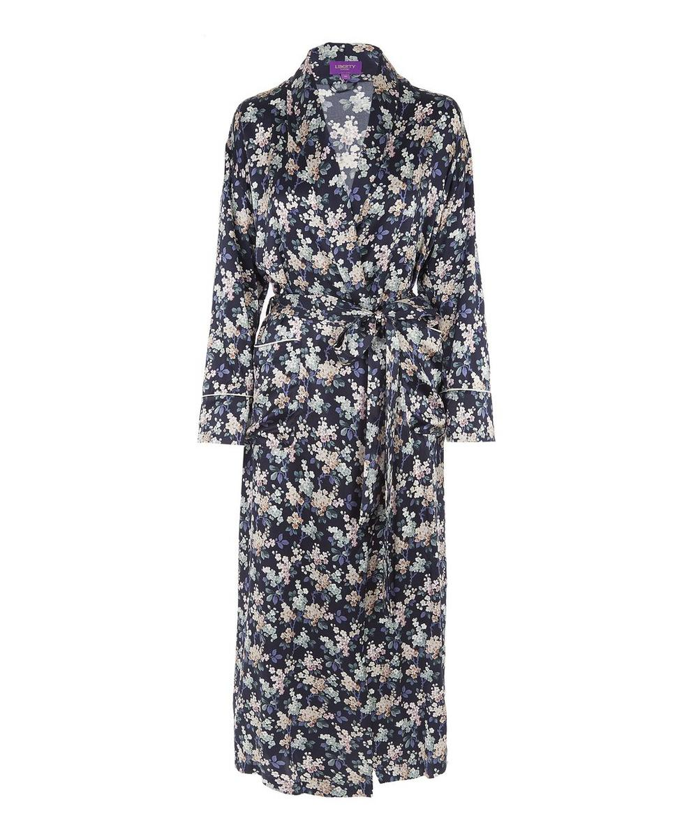Josephine Long Silk Robe