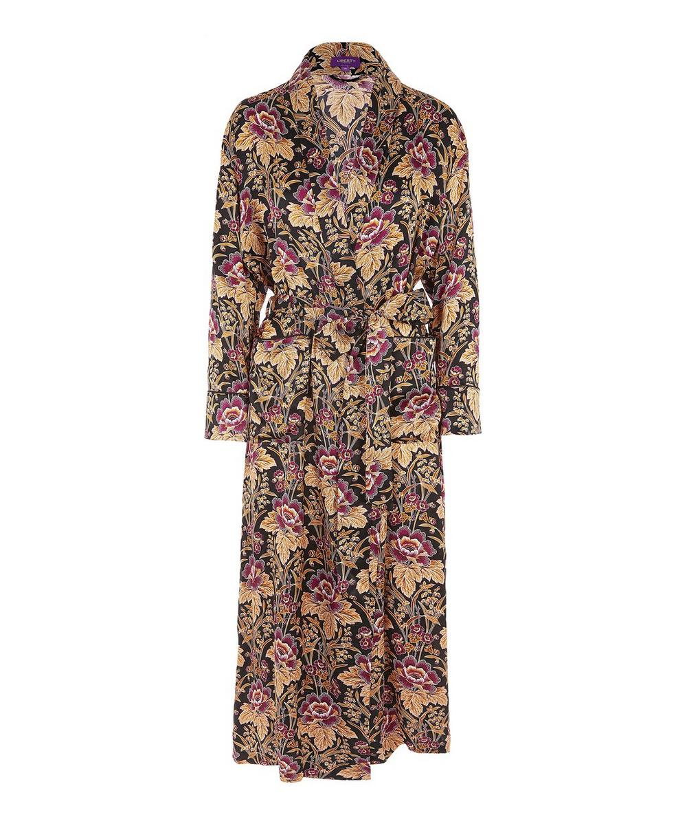 Genevieve Long Silk Robe