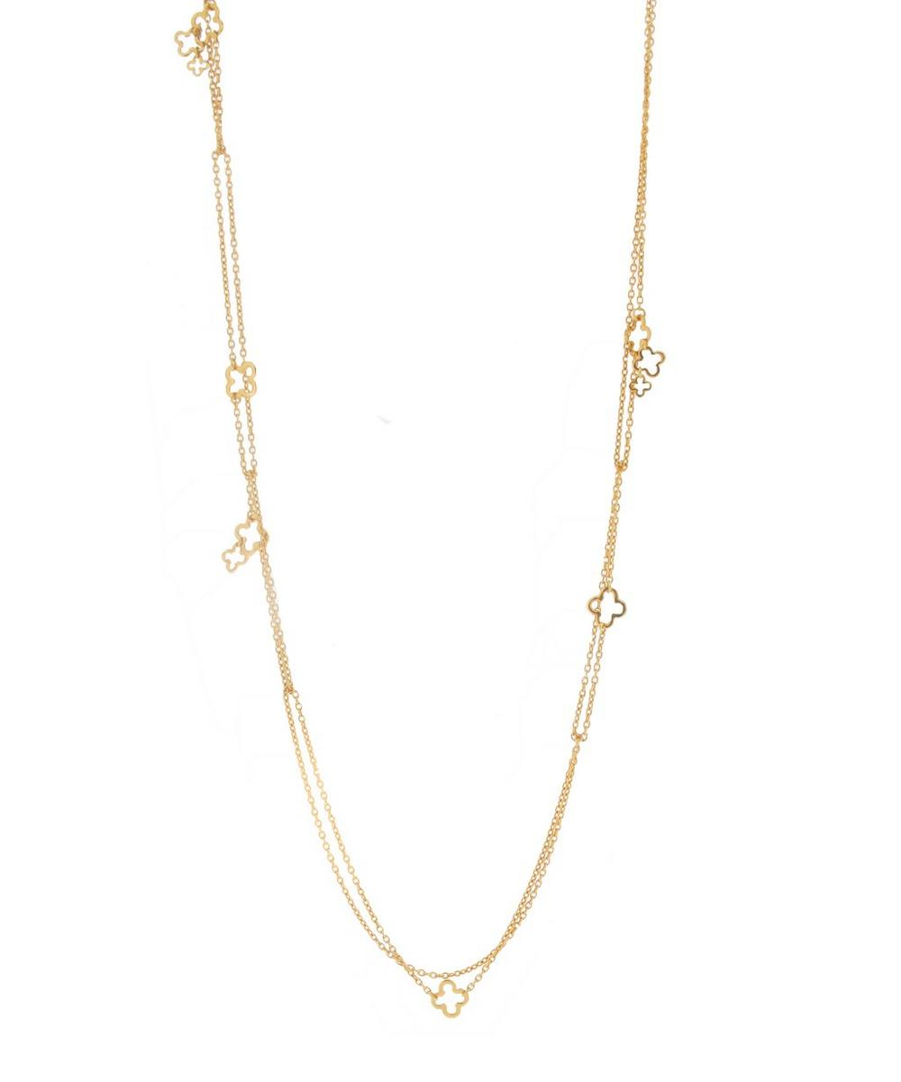 Gold-Plated Talitha Multi Chain Necklace