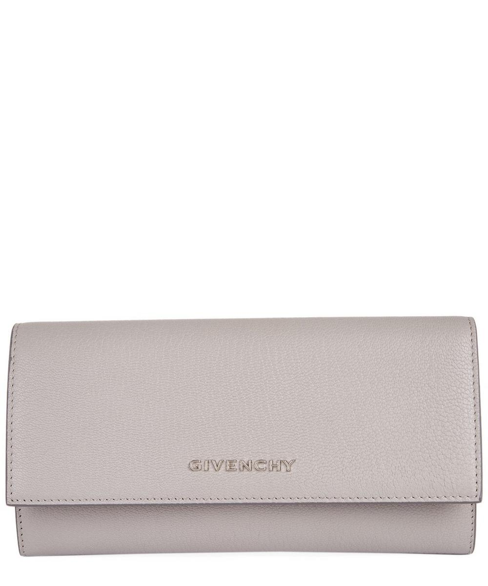 Pandora Leather Flap Wallet