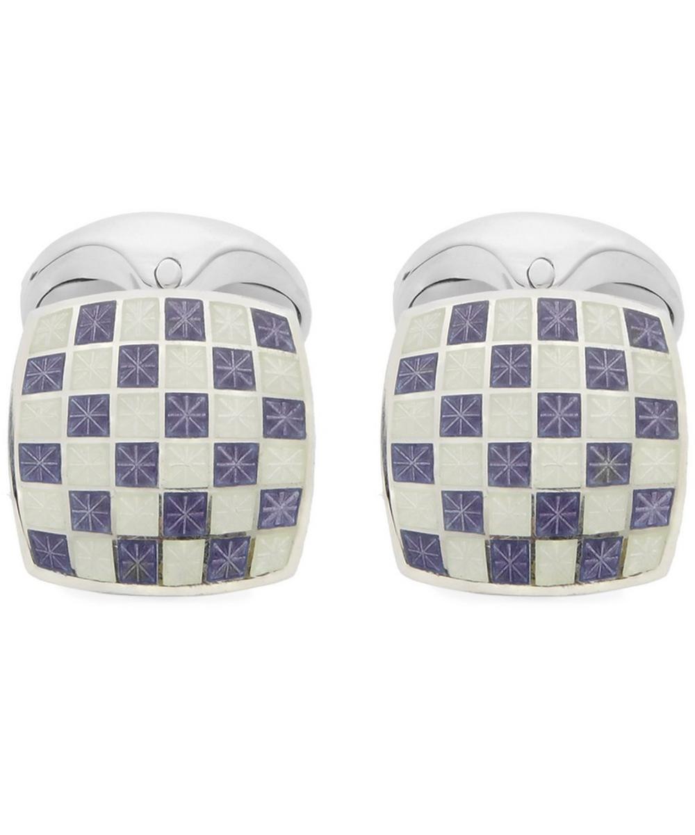 Chequered Square Cufflinks