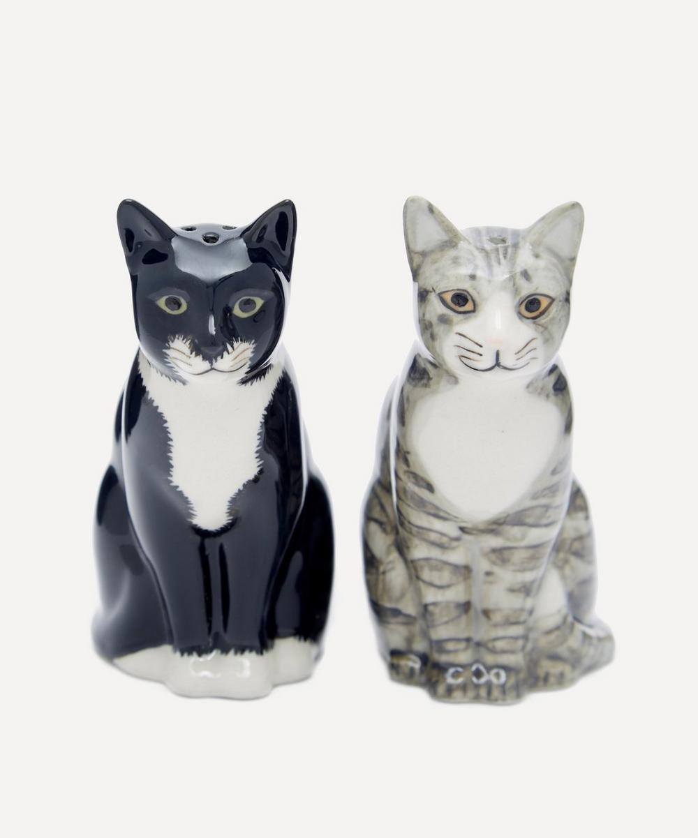 Sadie and Smartie Cat Salt and Pepper Shakers