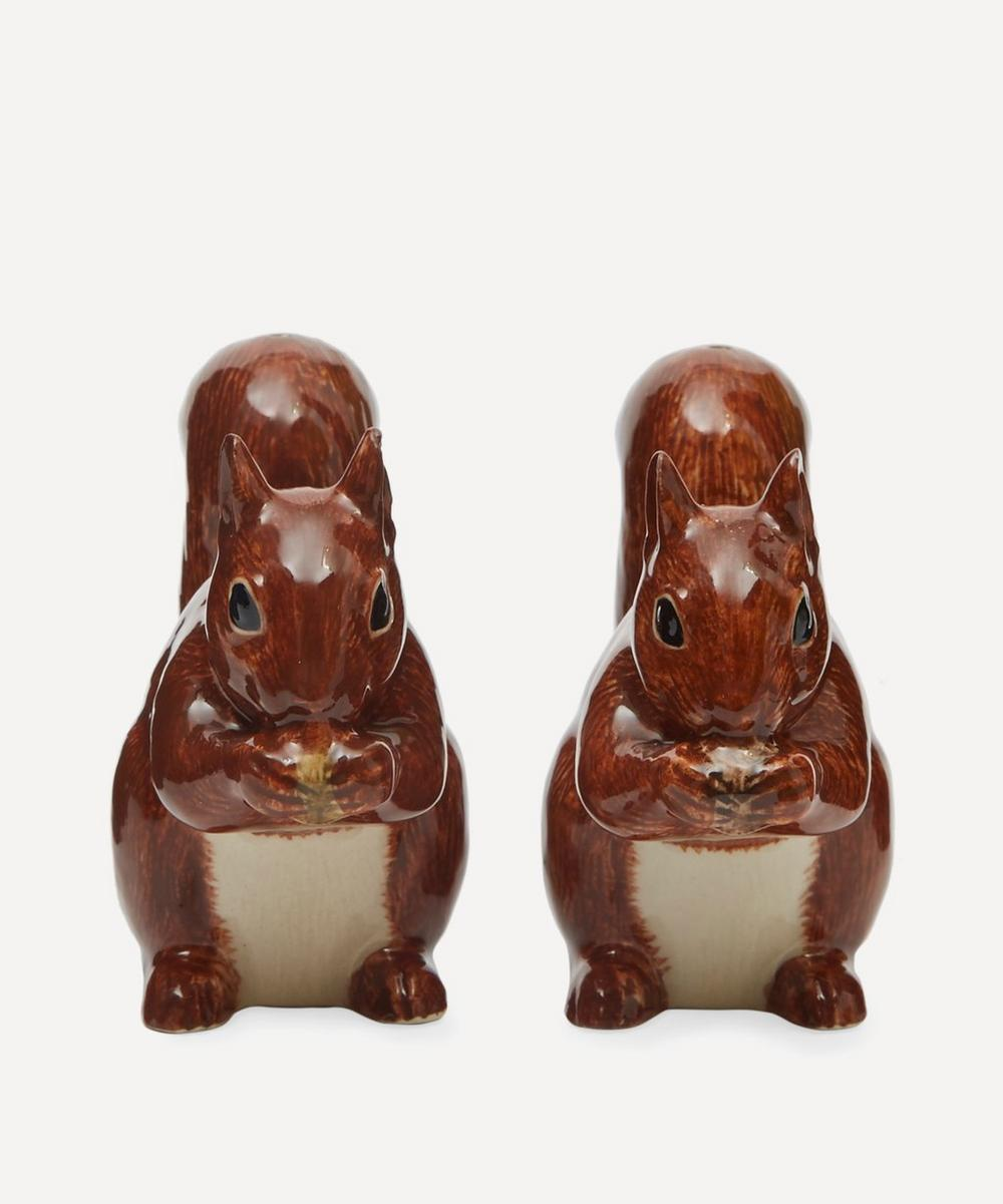 Red Squirrel Salt and Pepper Shakers