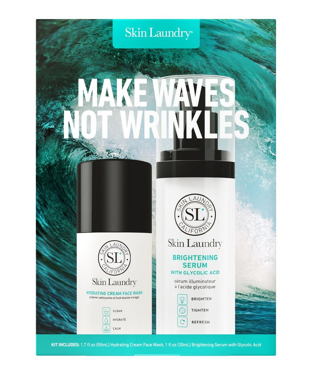 MAKE WAVES NOT WRINKLES SETSKIN LAUNDRY MAKE WAVES NOT WRINKLES SET