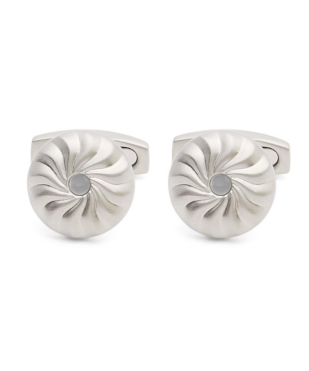Swirl Mother Of Pearl Cufflinks