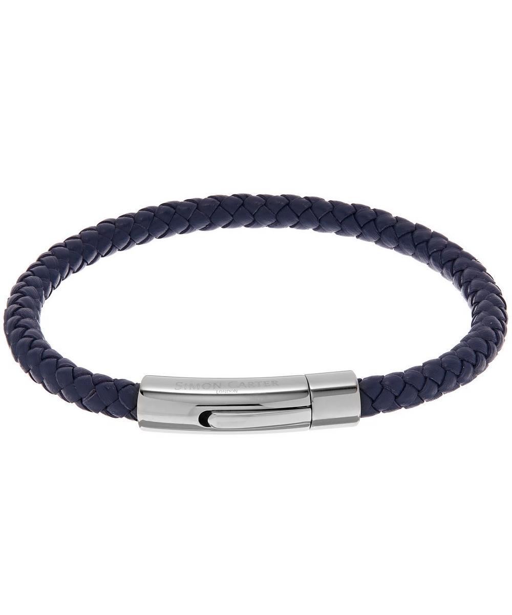 Thin Woven Leather Bracelet
