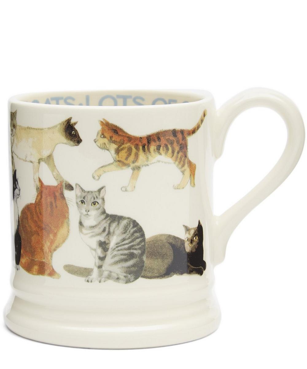 All Over Cats Half Pint Mug