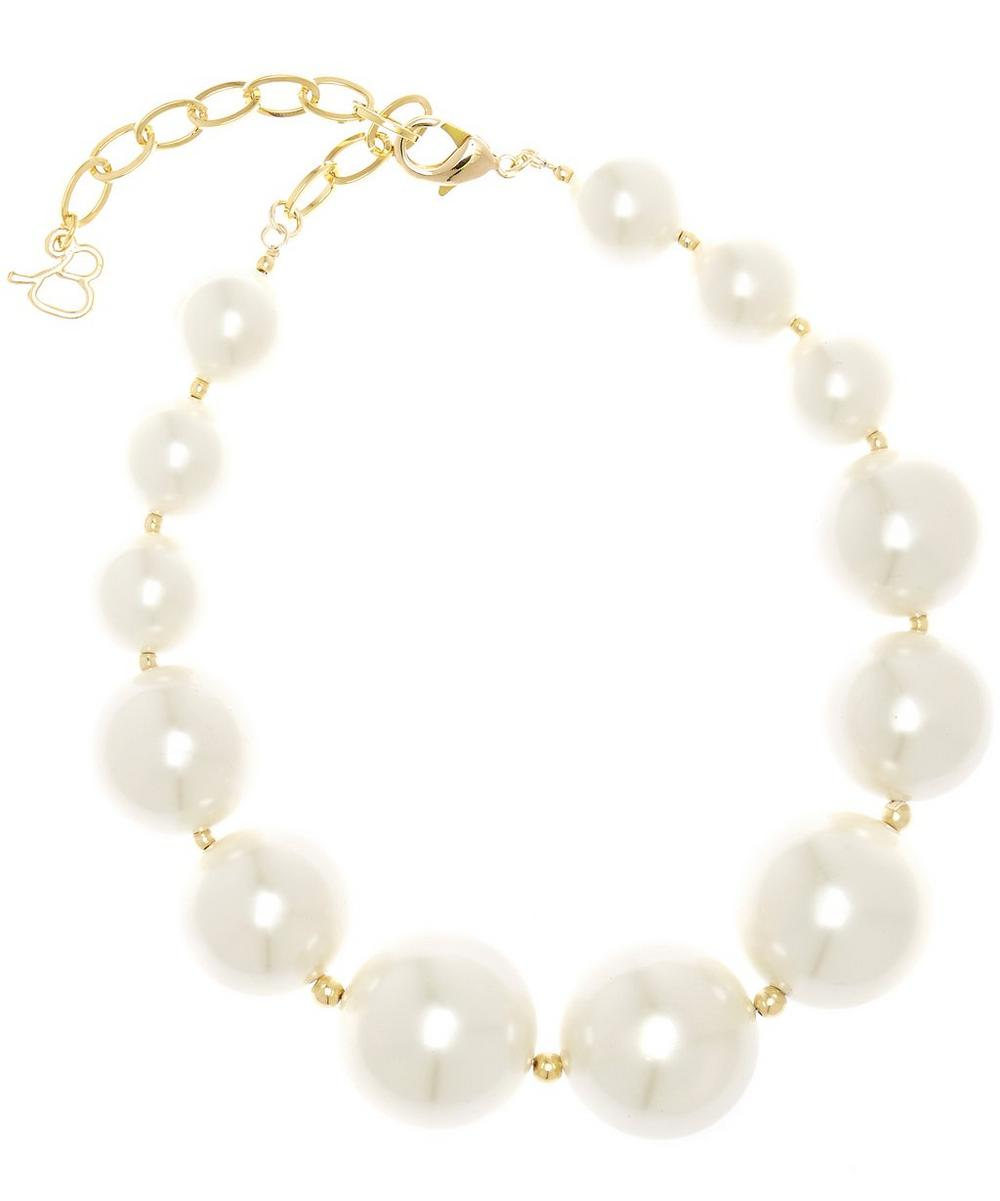 Aphrodite Pearl and Bead Necklace