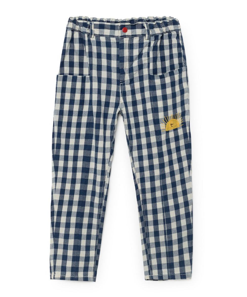 Vichy Baggy Gingham Trousers 2-8 Years