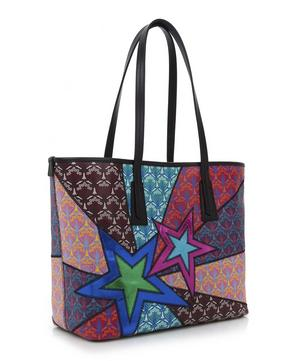 Little Marlborough Tote Bag in Stars Print