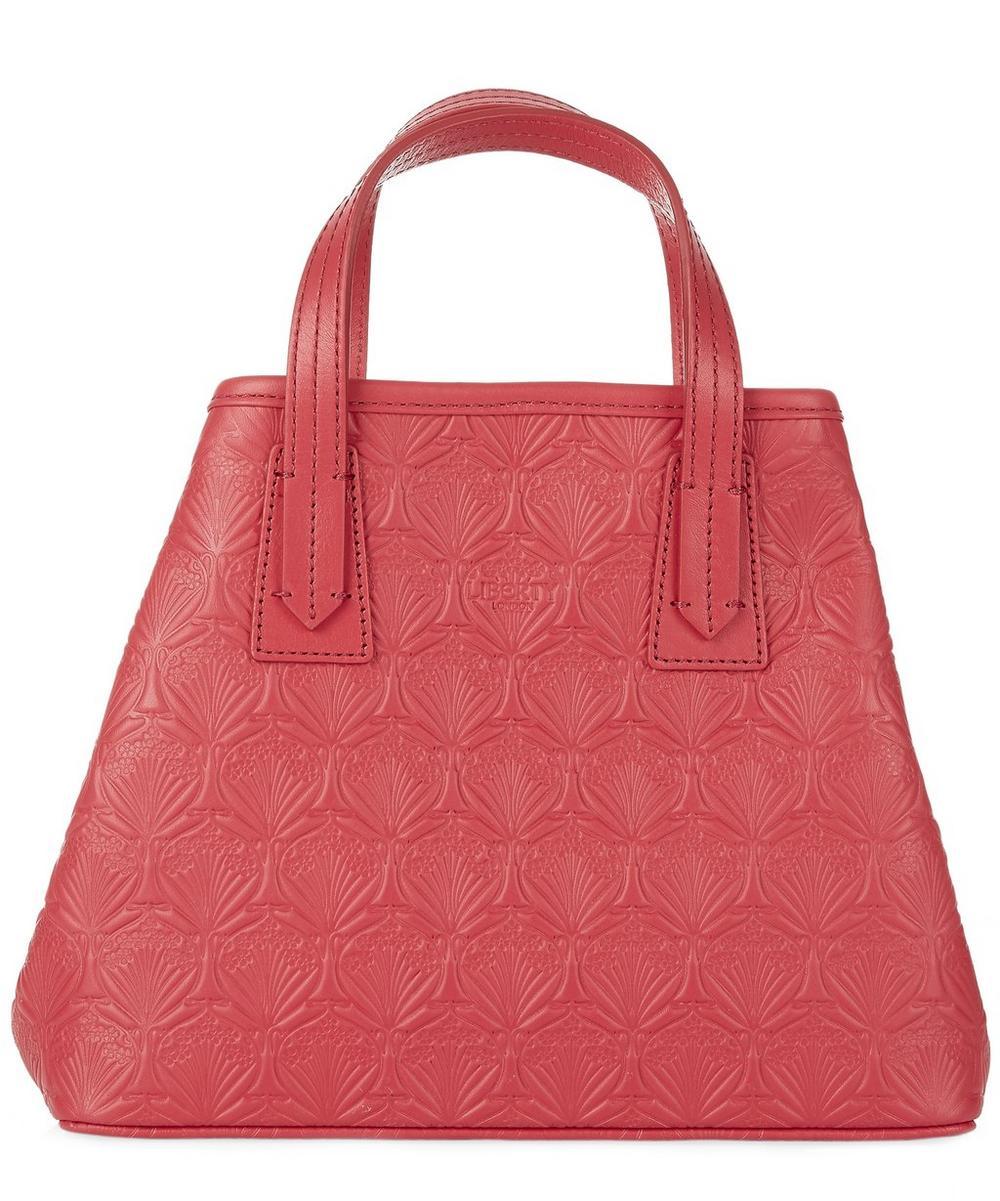 Mini Marlborough Tote Bag in Embossed Iphis