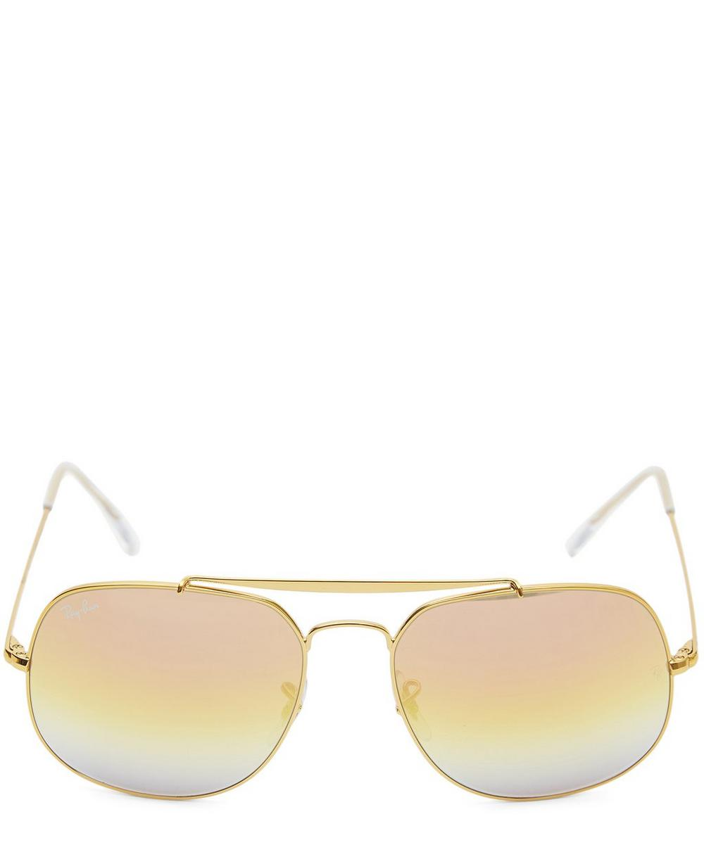 The General Gold Sunglasses