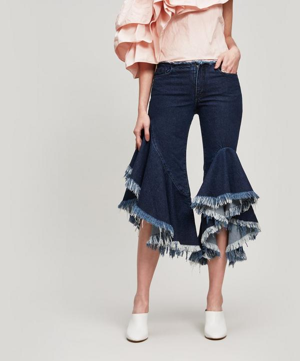 Frilled Jeans