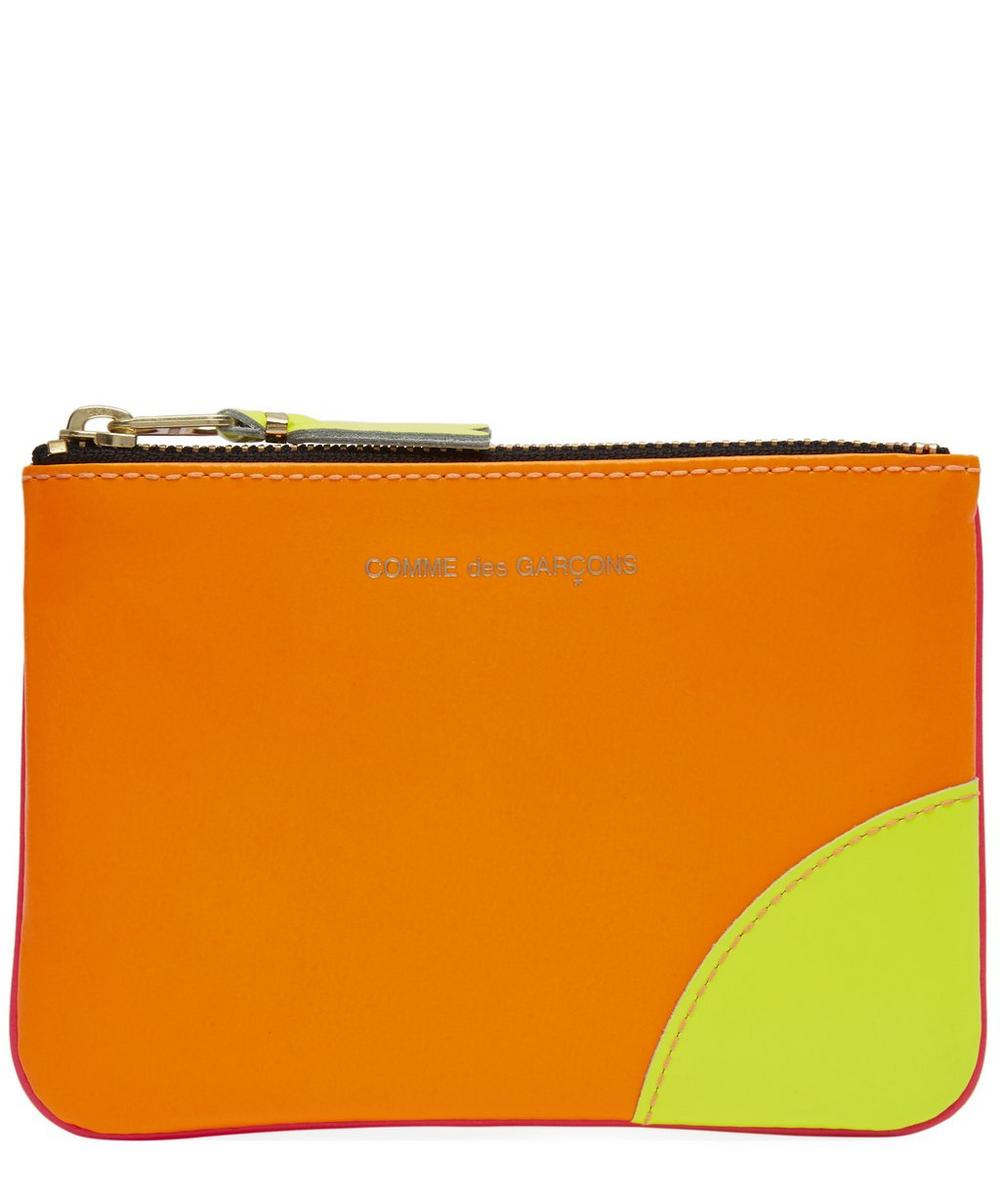Super Fluo Leather Coin Purse