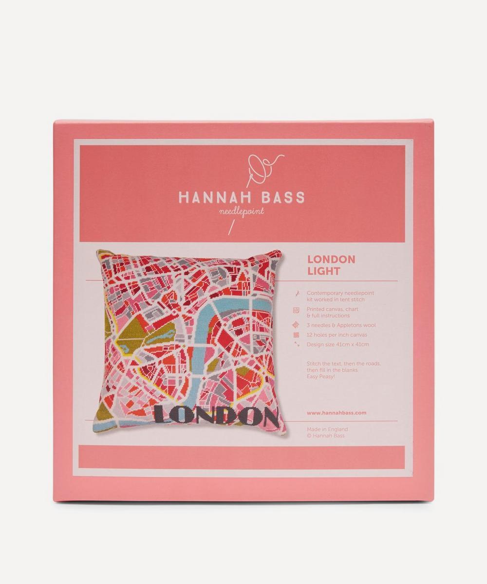 London Light Map Needlepoint Kit