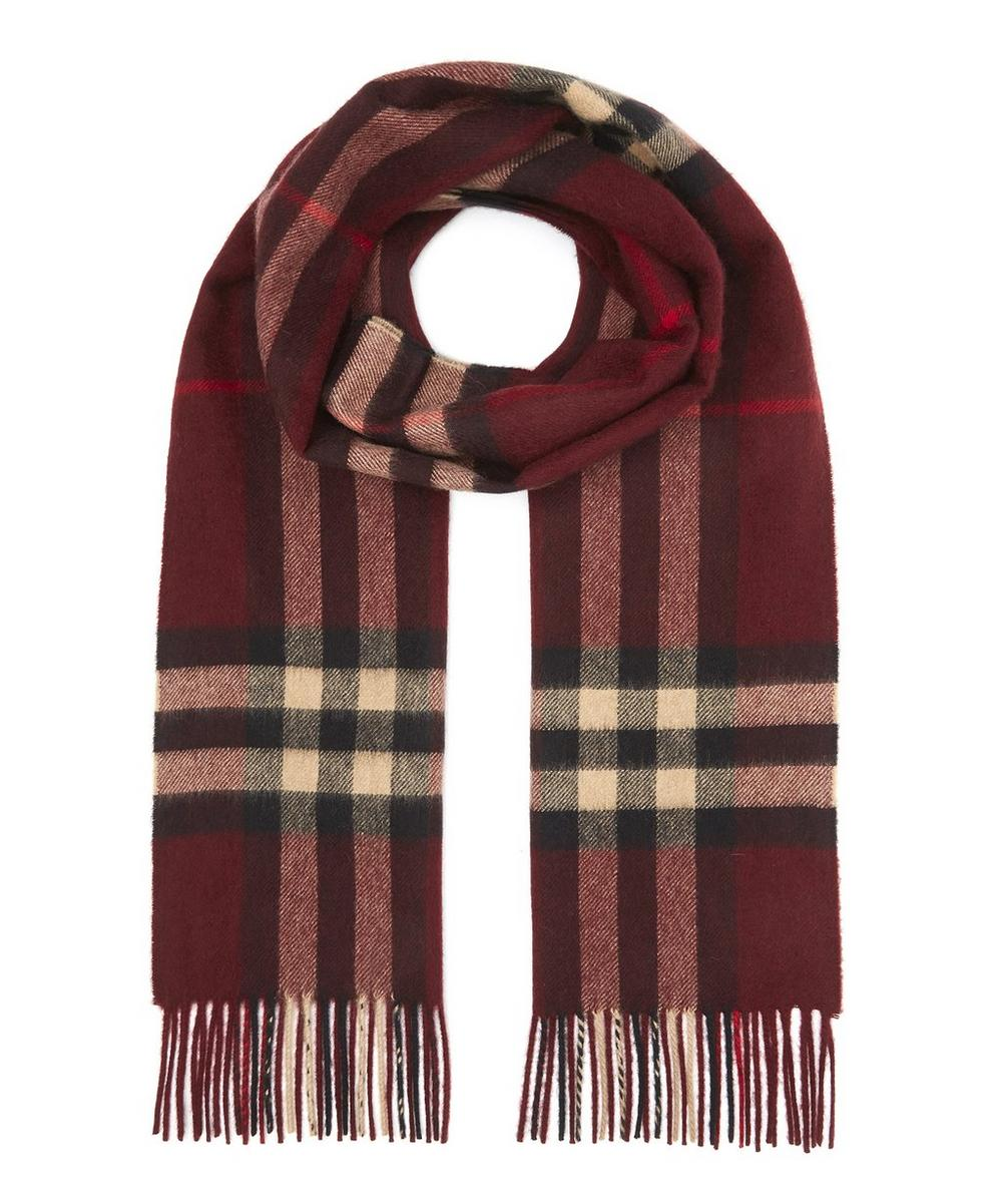 Giant Icon Check Scarf