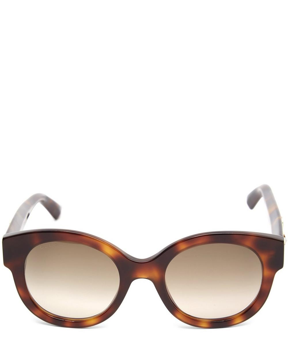 Tortoiseshell Star Sunglasses