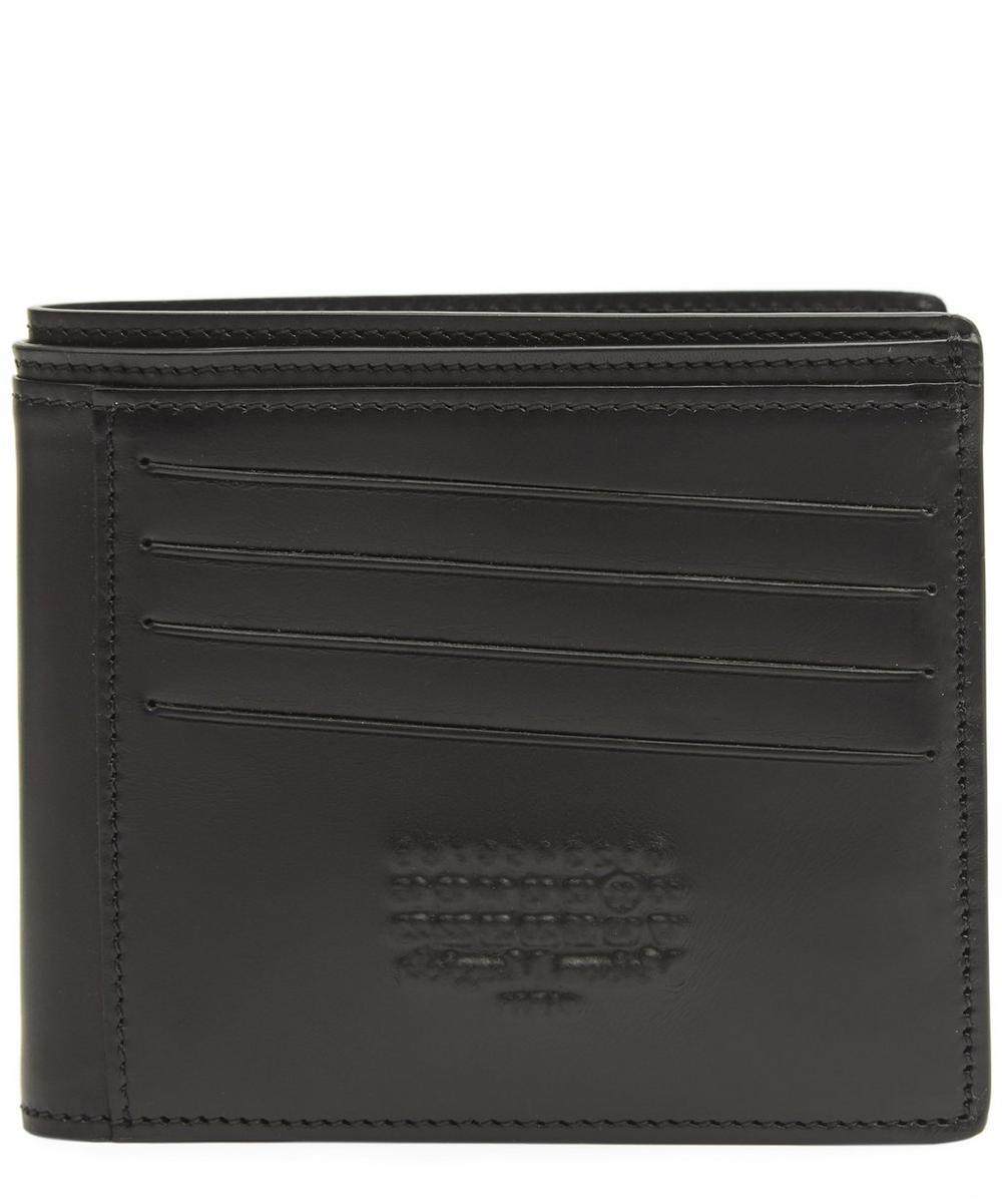 Logo-Embossed Bifold Wallet