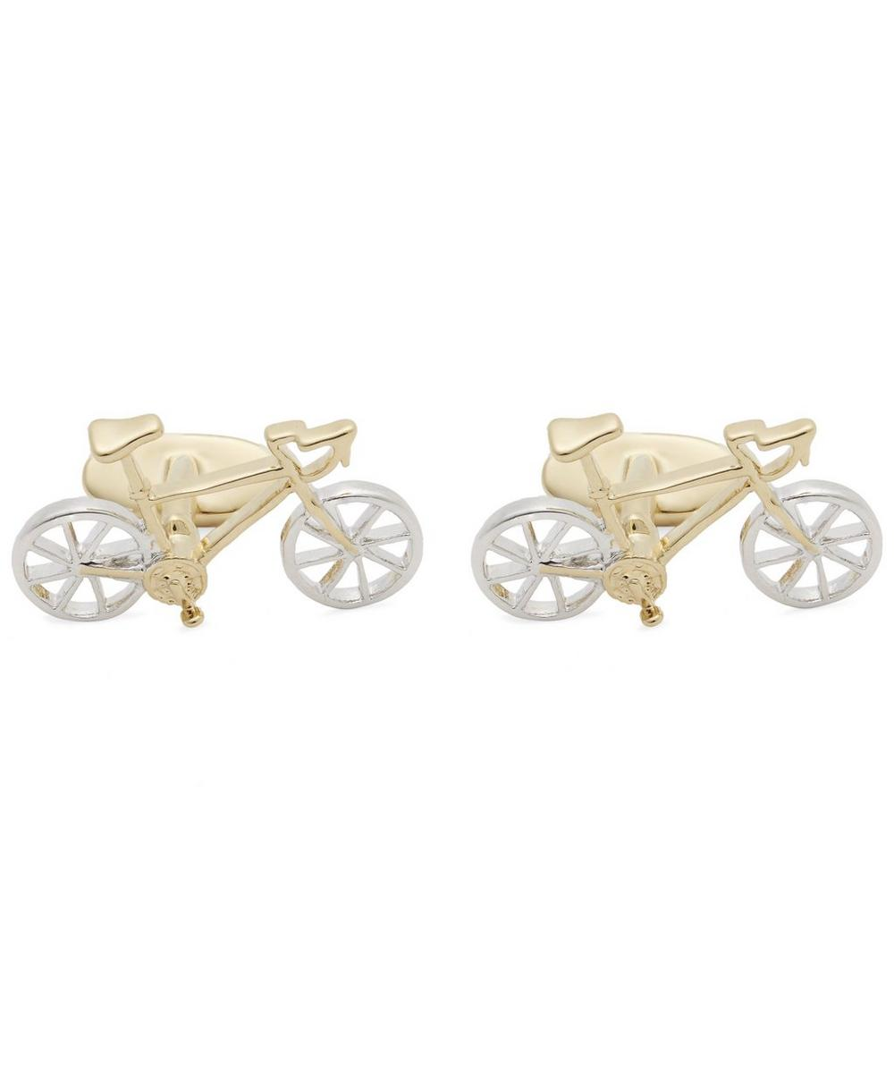 Racer Bike Cufflinks