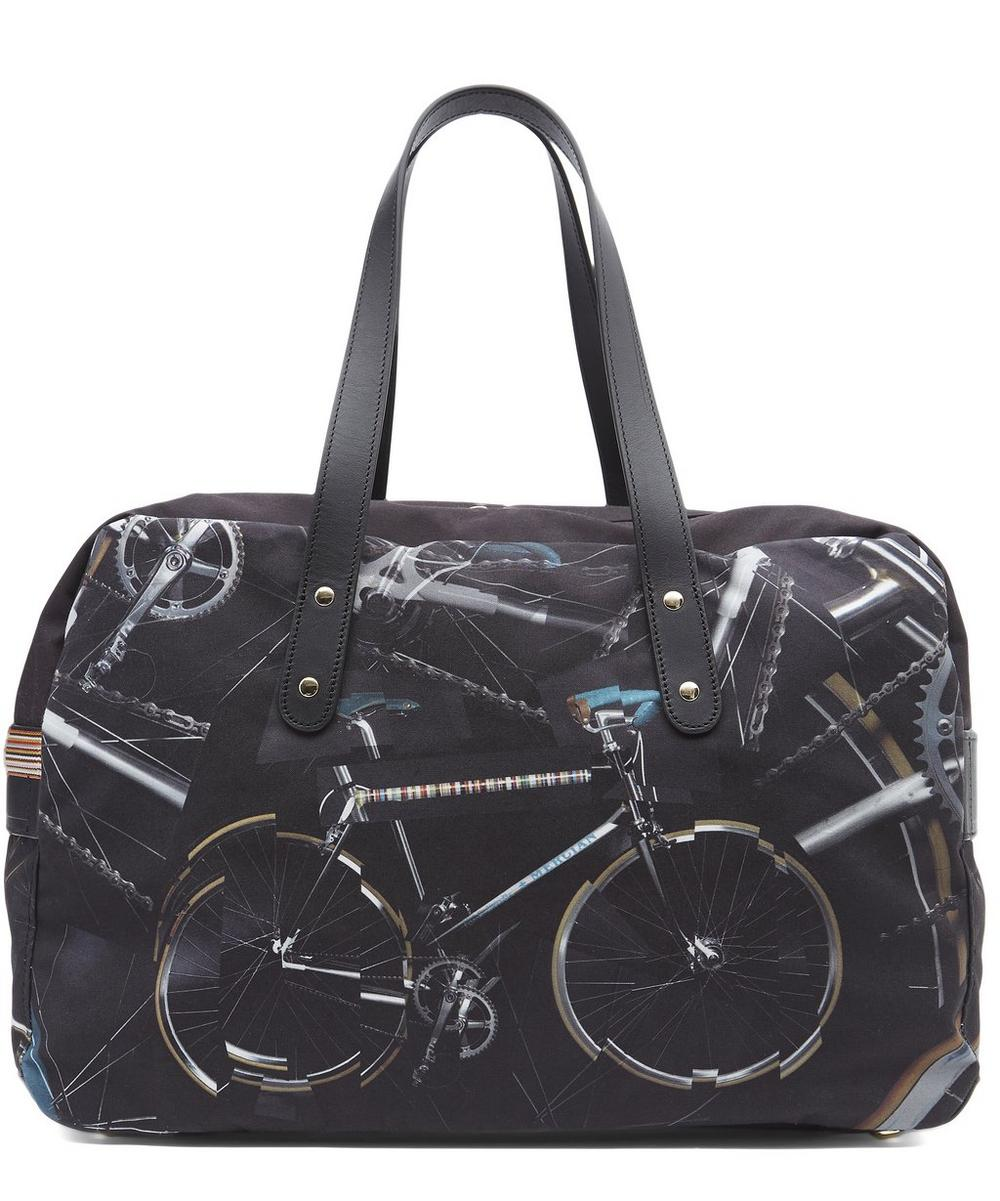 Bicycle Print 24 Hour Bag