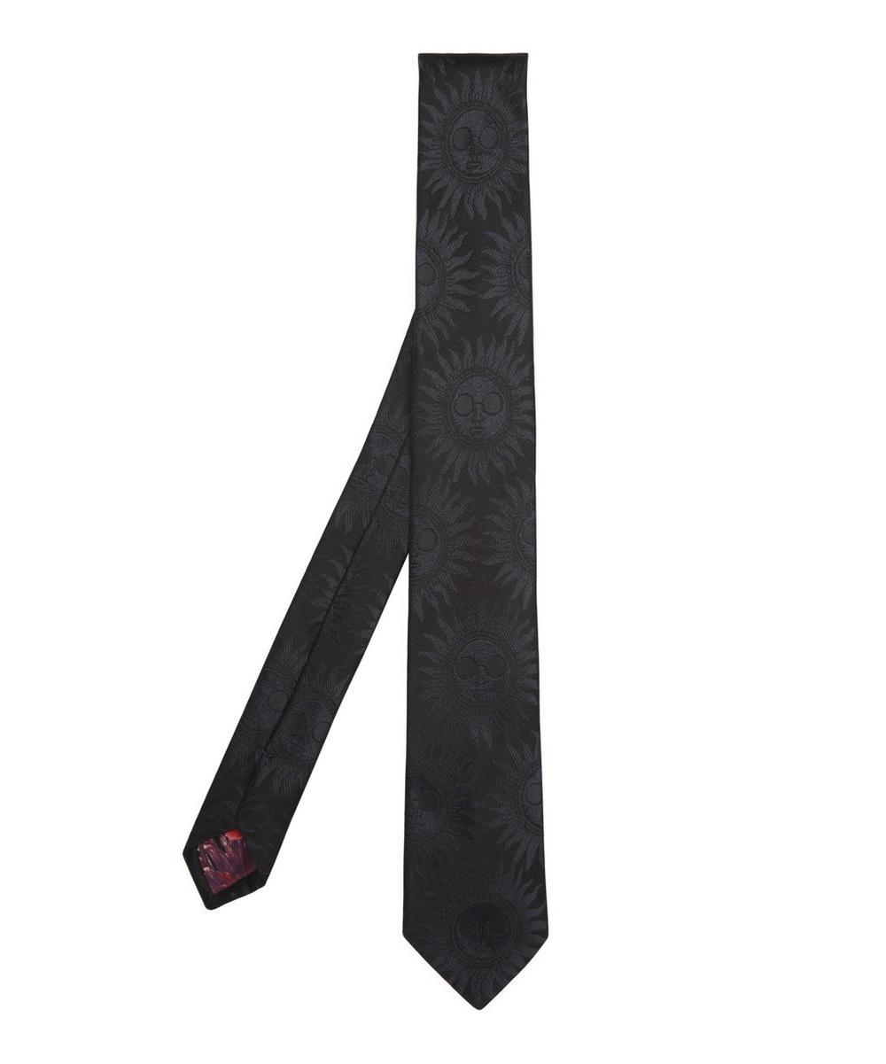 Tonal Sun Jacquard Print Tie