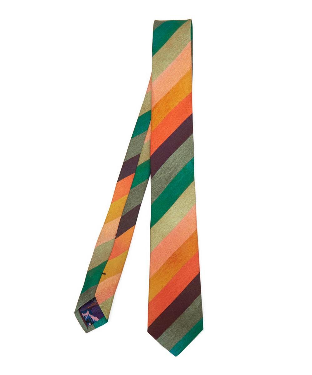 Artist Stripe Diagonal Tie