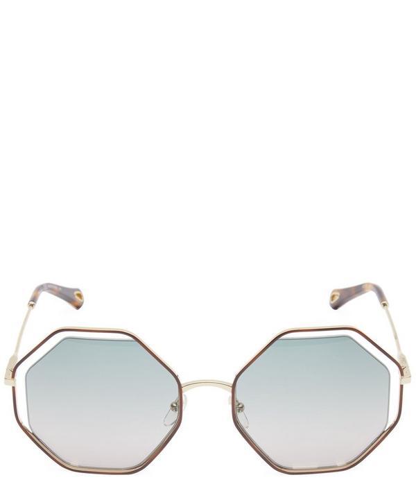 Poppy Hexagon Sunglasses
