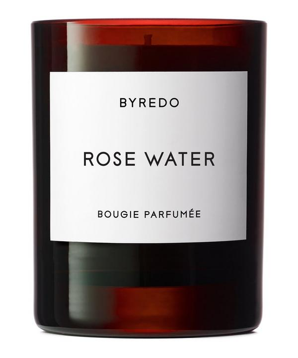Rosewater Scented Candle 240g