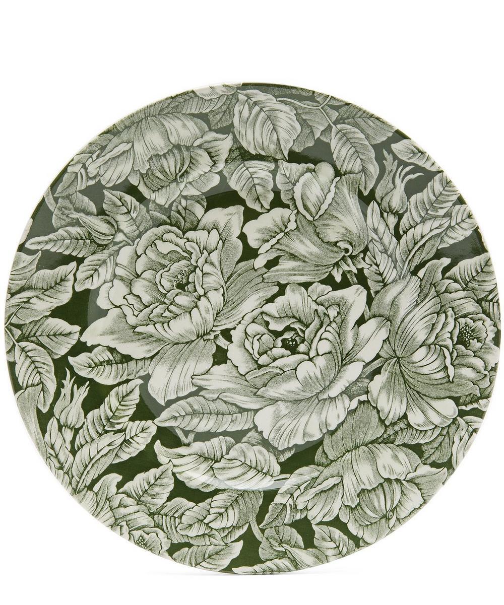 Burleigh Hibiscus Medium Plate