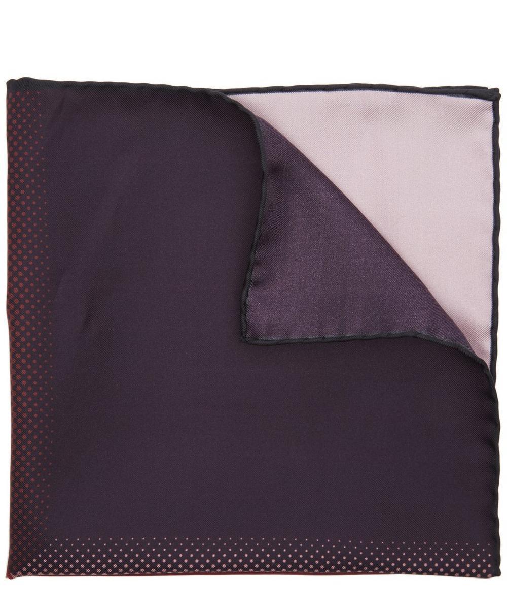 Four Colour Block Pocket Square