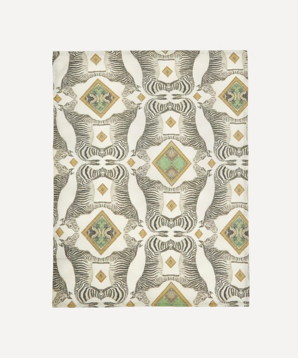 Wildlife Zebra Tea Towel