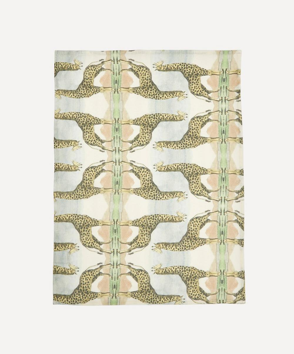 Wildlife Giraffe Tea Towel